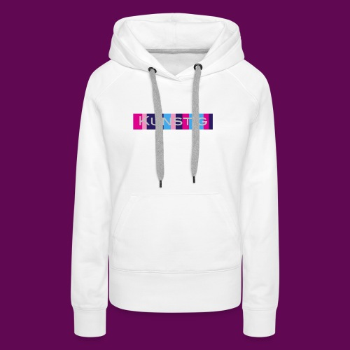 Hoofdlogo - Vrouwen Premium hoodie
