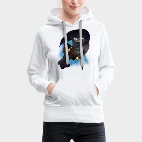 Fighting cards - Rodeur - Sweat-shirt à capuche Premium pour femmes