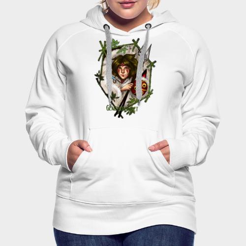 Geneworld - Mononoke - Sweat-shirt à capuche Premium pour femmes