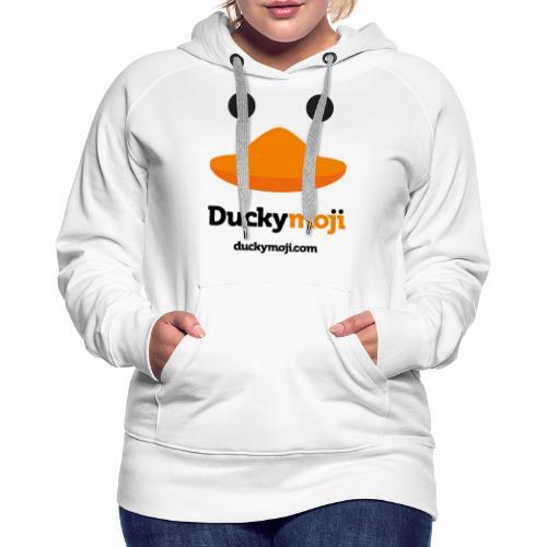 ducky standard logo - Frauen Premium Hoodie