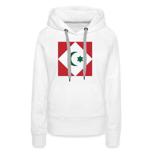berber vlag - Vrouwen Premium hoodie