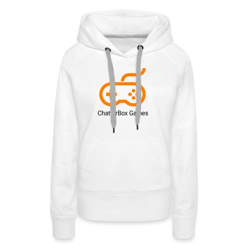 Logo with Black text - Women's Premium Hoodie
