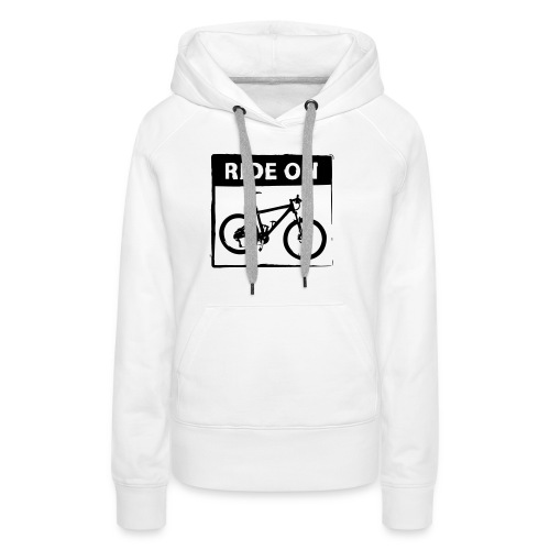 Ride On MTB 1 Color - Frauen Premium Hoodie