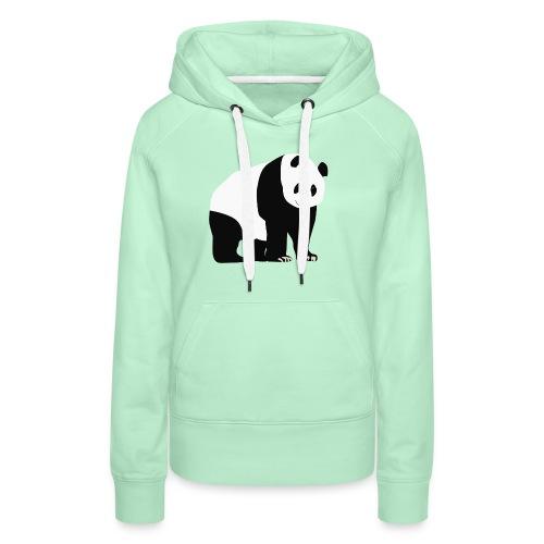 Panda - Naisten premium-huppari