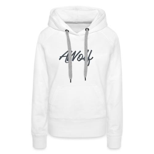 Sign AJWolf - Women's Premium Hoodie