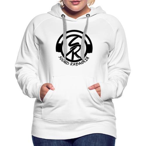 Sound Rabauken Logo schwarz - Frauen Premium Hoodie