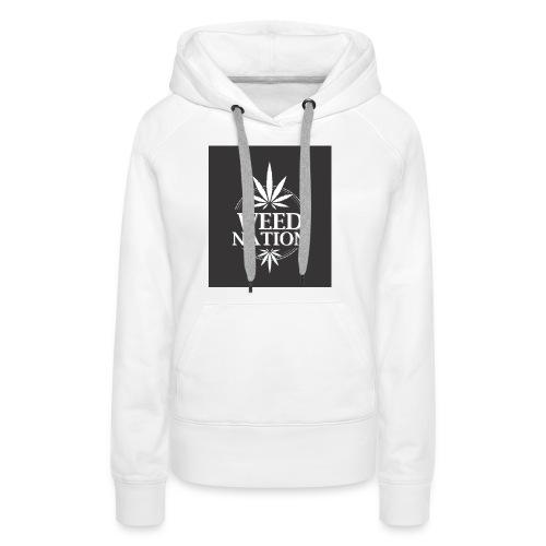 weed nation - Frauen Premium Hoodie