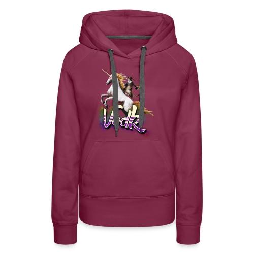 VodK licorne png - Sweat-shirt à capuche Premium pour femmes