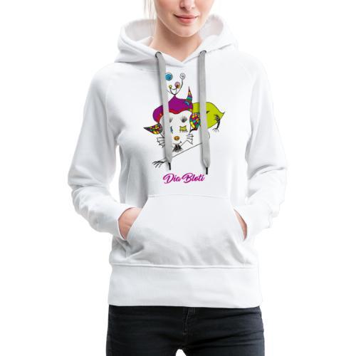 Dia Bloti - Sweat-shirt à capuche Premium pour femmes