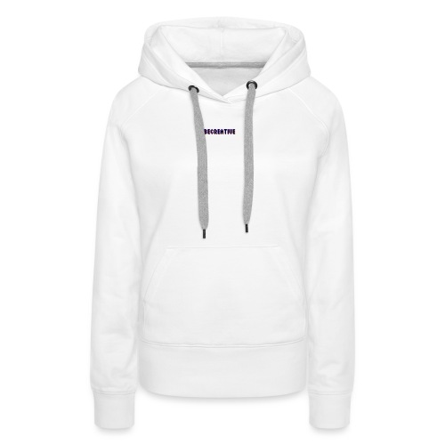 Be Creative! - Vrouwen Premium hoodie