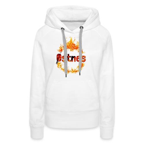 Østnes in flames - Premium hettegenser for kvinner