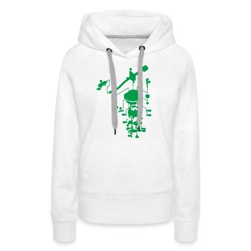 tonearm05 - Vrouwen Premium hoodie