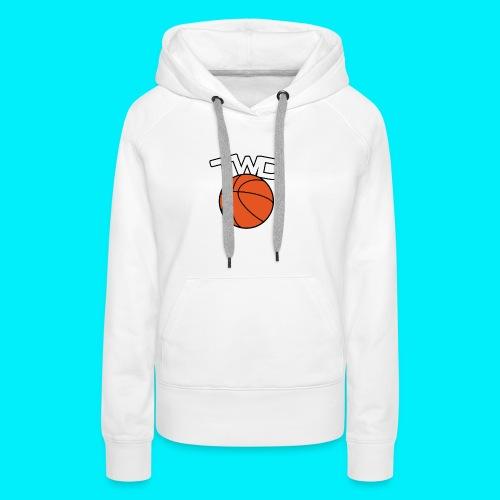 Logo TWD - Sweat-shirt à capuche Premium pour femmes