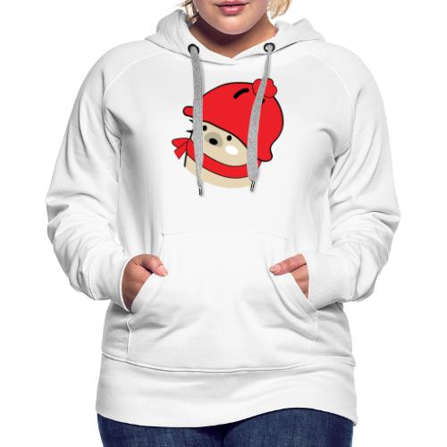 Mochie winter hat s - Women's Premium Hoodie