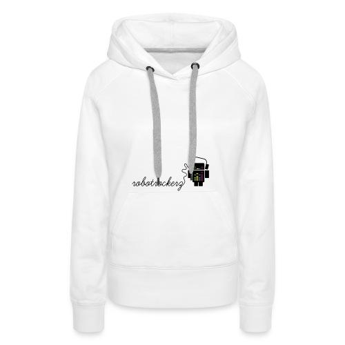 logo robotrockerz 1 - Frauen Premium Hoodie