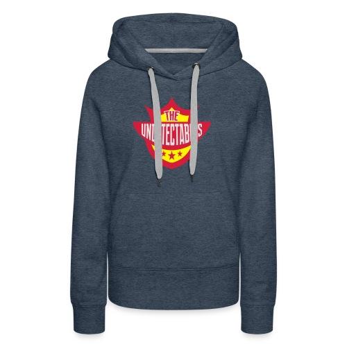 Undetectables voorkant - Vrouwen Premium hoodie