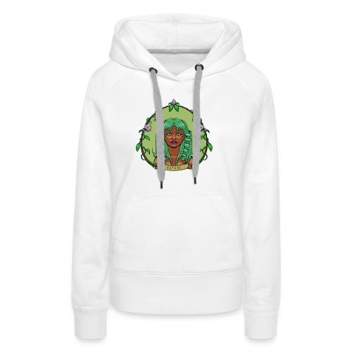 Mother Nature - Sudadera con capucha premium para mujer
