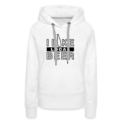 I Like Local Beer (swity) - Frauen Premium Hoodie