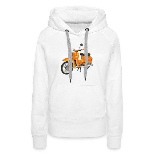 schwalbe in orange - Frauen Premium Hoodie