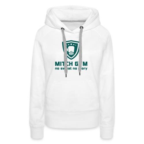 Logo_Mitch_Gym edit - Vrouwen Premium hoodie