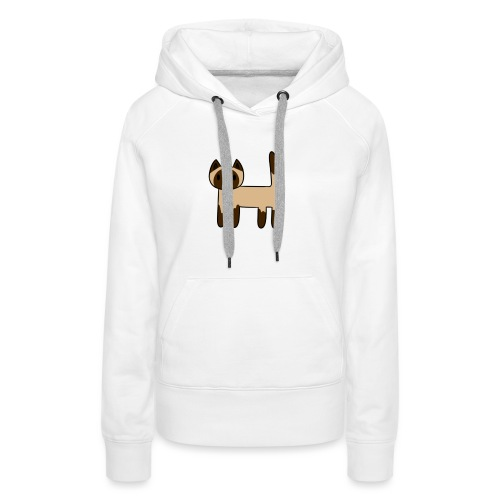 Siamese Cat - Women's Premium Hoodie