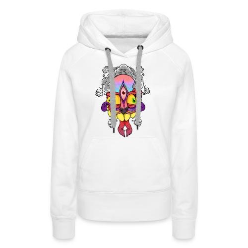 206194 peanutbutterclawk high flyin t shirt desig - Vrouwen Premium hoodie