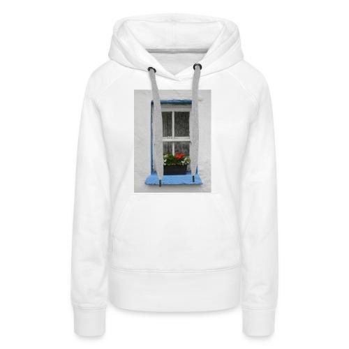 Cashed Cottage Window - Women's Premium Hoodie