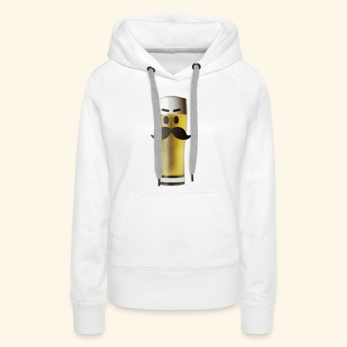 Beermoticon Mexican Lager - Women's Premium Hoodie