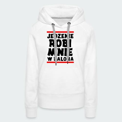 Damska Koszulka Premium JRBWB - Bluza damska Premium z kapturem