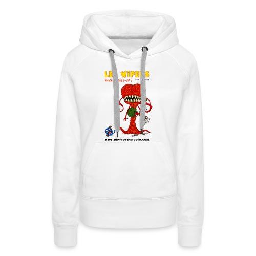 BD Les WIPERS licence6 - Sweat-shirt à capuche Premium pour femmes