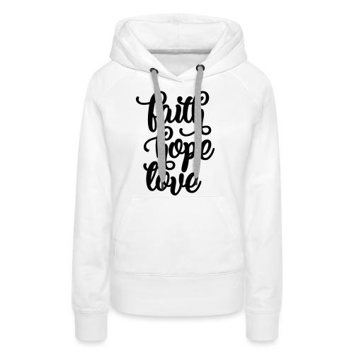 typo einfach 2016 copy - Frauen Premium Hoodie