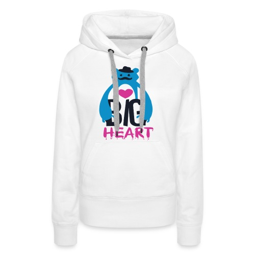 Big Heart Monster Hugs - Women's Premium Hoodie