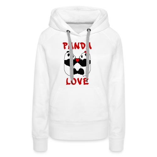 Panda Love - Women's Premium Hoodie