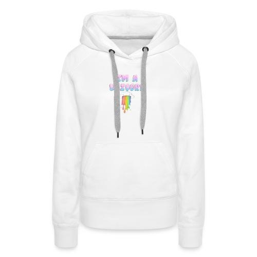Unicorn für Frauen geschenk geschenkidee - Frauen Premium Hoodie