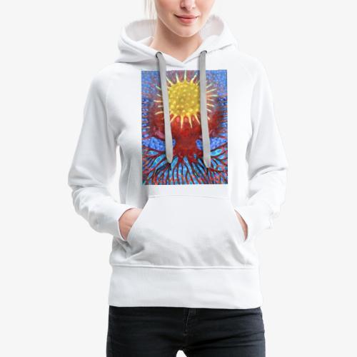 Niebiańskie Drzewo - Bluza damska Premium z kapturem