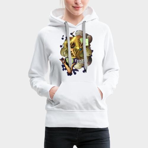Fighting cards - Soigneuse - Sweat-shirt à capuche Premium pour femmes
