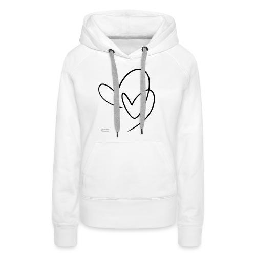Lovers - Sudadera con capucha premium para mujer