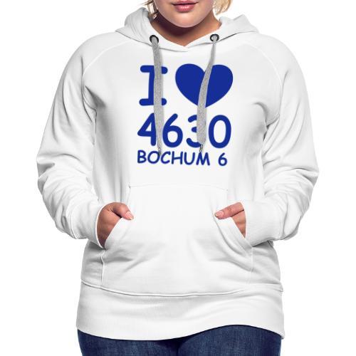 I ♥ 4630 BOCHUM 6 - Frauen Premium Hoodie