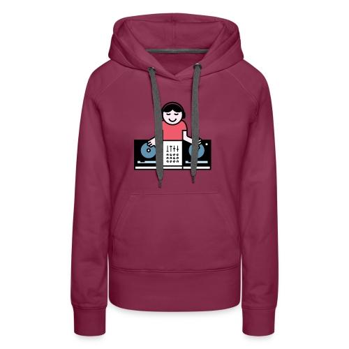 CDJ DJ - Vrouwen Premium hoodie