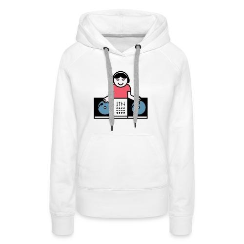 Vinyl DJ - Vrouwen Premium hoodie