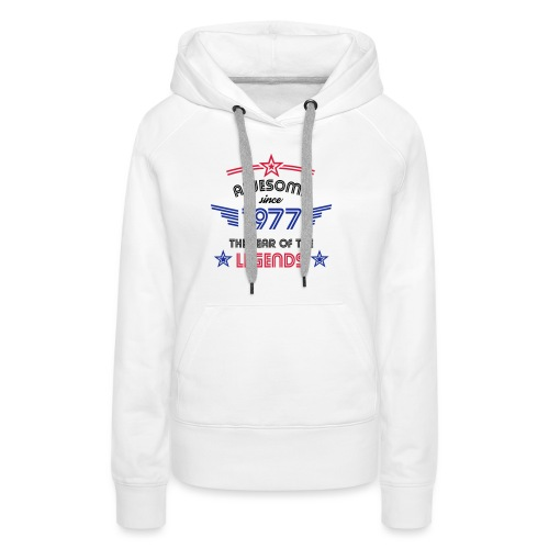 Awesome since 1977 - Frauen Premium Hoodie