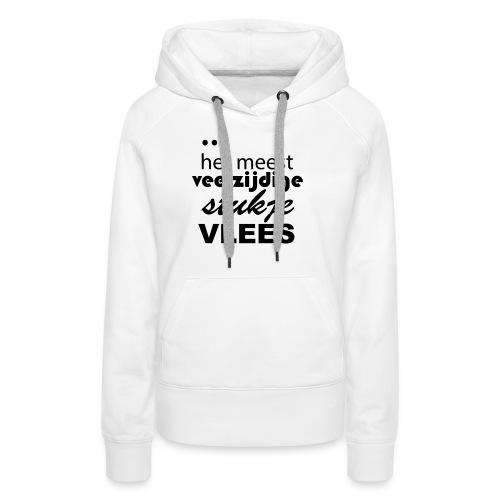 slimfit shirt - Vrouwen Premium hoodie
