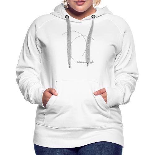 ANGLE DROIT - Women's Premium Hoodie