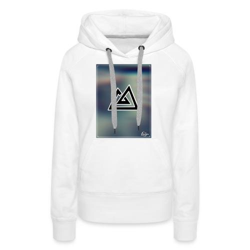 Montagne. - Sweat-shirt à capuche Premium pour femmes