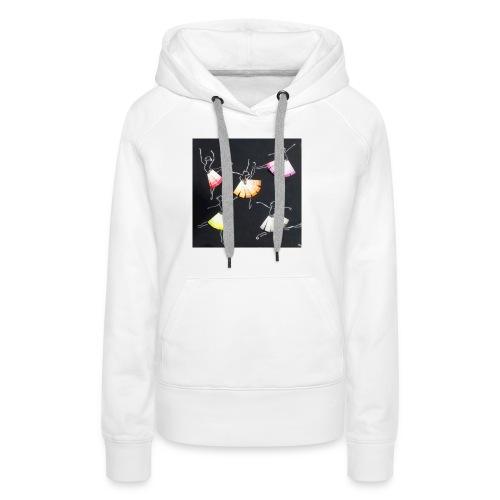 Historica ballerina s jpg - Vrouwen Premium hoodie
