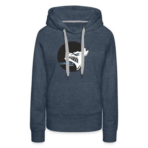 Lunaria_Logo tete pleine - Sweat-shirt à capuche Premium pour femmes