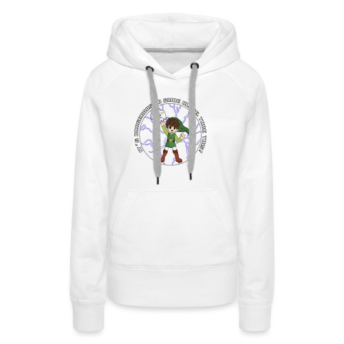 Dangerous To Game Alone - Women's Premium Hoodie