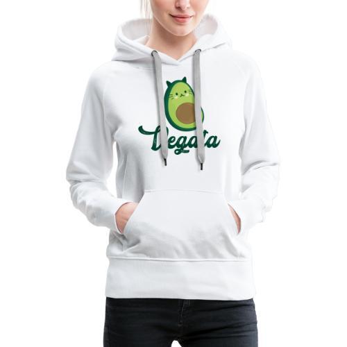 Vegata - Sudadera con capucha premium para mujer