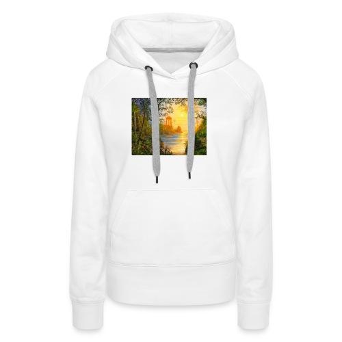 Temple of light - Women's Premium Hoodie