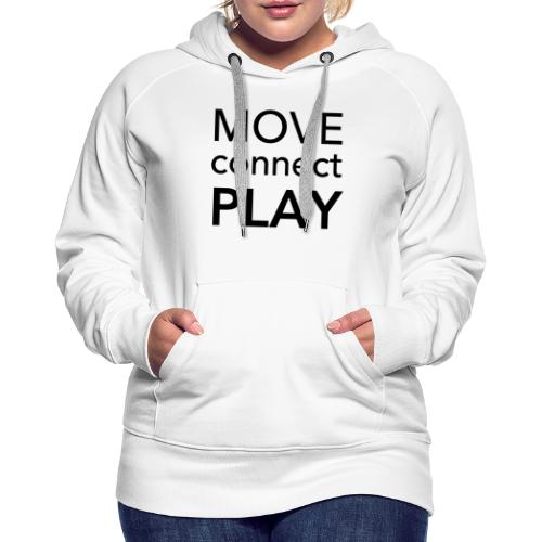 Move Connect Play - AcroYoga International - Women's Premium Hoodie